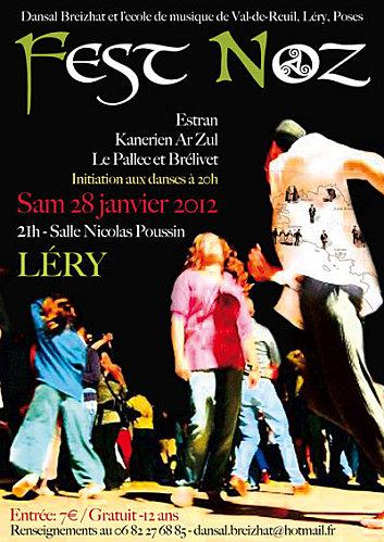 Fest-noz samedi 28 janvier 2012 à Léry (27690).
